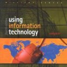 Using Information Technology 4th by Brian K. Williams 0072398035