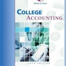College Accounting 18th Chapters 1-29 by James A. Heintz 0324201478