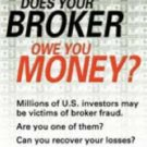 Does Your Broker Owe You Money? by Daniel R. Solin 0028643909