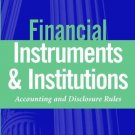 Financial Instruments and Institutions by Stephen G. Ryan 0471220760