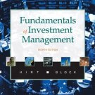 Fundamentals of Investment Management 8th Ed. by Geoffrey Hirt 0073134937