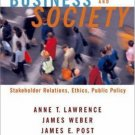 Business and Society: Stakeholders, Ethics, Public Policy 11th Ed. by Lawrence 0072986212
