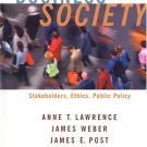 Business and Society: Stakeholders, Ethics, Public Policy 11th Ed. by Lawrence 0072881305