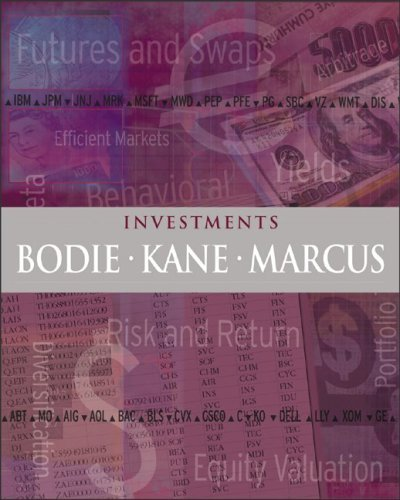 Investments 6th Ed. by Zvi Bodie 007293414X