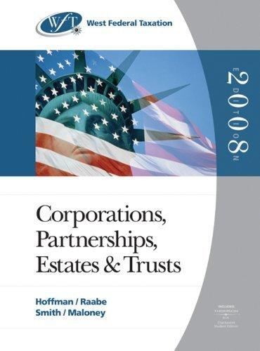West Federal Taxation 2008 by David M. Maloney 0324380437