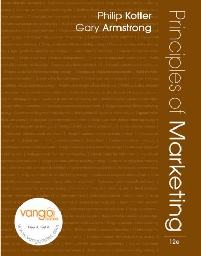 Principles of Marketing 12th Ed. by Gary Armstrong 0132390027