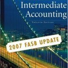 Intermediate Accounting, Update 12th Ed. by Donald E. Kieso 0470128747