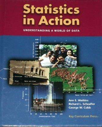 Statistics in Action: Understanding a World of Data by Watkins 1559533137