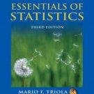 Essentials of Statistics 3rd by Mario F. Triola 0321434250