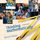 Thinking Mathematically 2nd by Robert Blitzer 0130656011