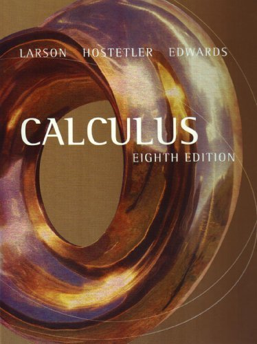Calculus 8th by Ron Larson 061850298X