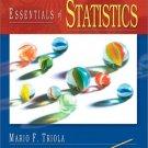 Essentials of Statistics by Mario F. Triola 0201741180