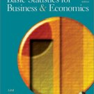 Basic Statistics for Business and Economics 4th Ed. by Douglas A. Lind 0072471042