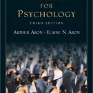 Statistics for Psychology 3rd Edition by Arthur Aron 013035810X