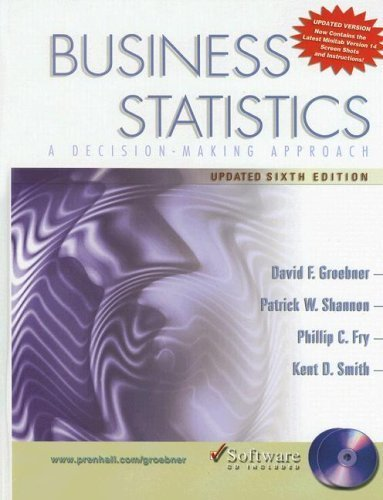 Business Statistics 6th ED. by Patrick W. Shannon 013149855X