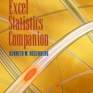 The Excel Statistics by Kenneth M. Rosenberg 0534642306
