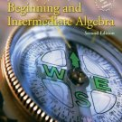 Beginning and Intermediate Algebra 2nd Edition by John Jr Tobey 0131492039