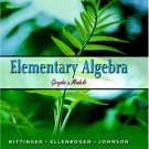 Elementary Algebra: Graphs & Models by Marvin L. Bittinger 0321186184