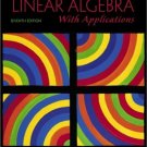 Introductory Linear Algebra with Applications 7th Ed. by Bernard Kolman 0130182656