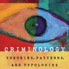 Criminology : Theories, Patterns, and Typologies 9th by Larry J. Siegel 049500572X