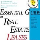 Essential Guide to Real Estate Leases by Mark Warda 1572481609