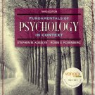 Fundamentals of Psychology in Context 3rd Stephen M. Kosslyn 0205507573