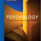 Psychology : The Science of Mind and Behavior 3rd by Michael W. Passer 0073228869