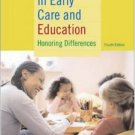 Diversity in Early Care and Education Programs 4th by Janet Gonzalez-Mena 0072877839