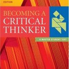 Becoming a Critical Thinker 5th by Vincent Ryan Ruggiero 0618527834
