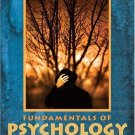 Fundamentals of Psychology : The Brain, The Person, The World (2nd) by Robin S. Rosenberg 0205415059
