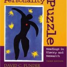 Pieces of the Personality Puzzle, Third Edition by Funde 0393979970