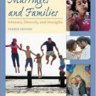 Marriages and Families : Intimacy, Diversity, and Strengths 4th by David H. Olson 0072523441