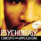 Psychology : Concepts and Applications by Albert A. Maisto 0132403242