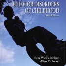 Behavior Disorders of Childhood (5th) by Allen C. Israel 0130987840