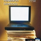 Annual Editions : Research Methods 01/02 by Gail Gerlach 007240437X