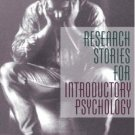 Research Stories for Introductory Psychology (2nd) by Lary Shaffer 0205385869