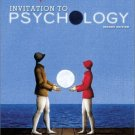 Invitation to Psychology, Second Edition by Carol Tavris 0130338176