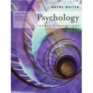 Psychology : Themes and Variations, Brief 6th Edition by Wayne Weiten 0534642667