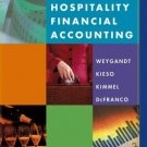 Hospitality Financial Accounting by Kieso 0471270555