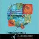 Fundamentals of Investments 2nd edition by Charles J. Corrado 0072866829
