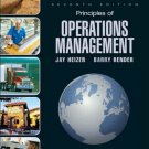 Principles of Operations Management 7th Ed. by Jay Heizer 0132343282
