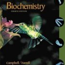 Biochemistry 4th Edition by Mary K. Campbell 0030348498