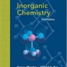 Inorganic Chemistry 3rd Edition by Gary L. Miessler 0130354716