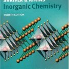 Inorganic Chemistry 4th edition by Duward Shriver 0716748789