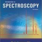 Introduction to Spectroscopy 3rd edition by Donald L. Pavia 0030319617