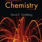 Fundamentals of Chemistry 5th edition by David Goldberg 007322104X