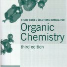 Organic Chemistry 3rd ed Study Guide/Solutions manual Maitland, Jr. Jones 0393924580