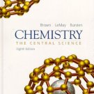 Chemistry The Central Science 8th edition by Theodore L. Brown 0130103101