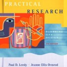 Practical Research Planning and Design 8th Edition by Leedy, Paul D. 0131108956
