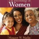 The Psychology of Women 6th Edition by Matlin 0495091545